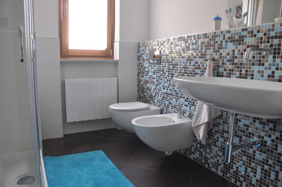 dettaglio del bagno dell'alloggio